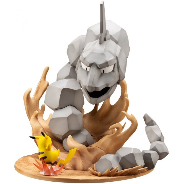 ARTFX J Pokemon Series 1/8 Scale Pre-Painted Figure: Onix vs. Pikachu