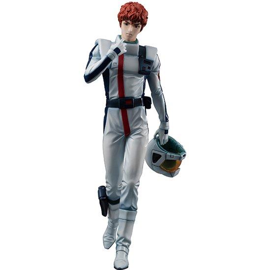 Gundam Guys Generation Mobile Suit Gundam Char S Counterattack 1 8 Scale Pre Painted Figure Amuro Ray