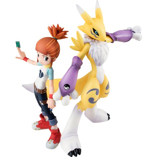 G.E.M. Series Digimon Tamers: Rika Nonaka & Renamon (Re-run)