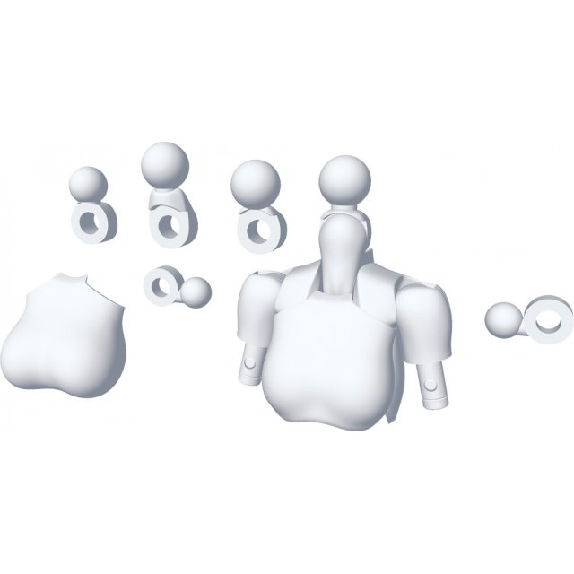 Megami Device 1/1 Scale Model Kit: M.S.G 01 Tops Set White