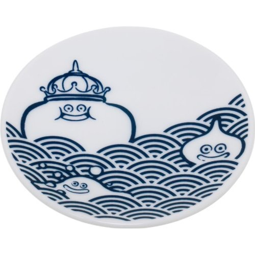 Dragon Quest - Smile Slime Japanese Series Mini Plate: Slime Wave Pattern