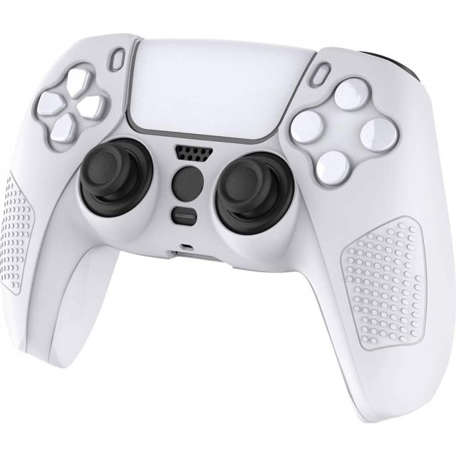 CYBER・Controller Silicon Cover for PlayStation 5 (White)